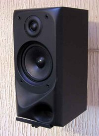 Wall-mounted loudspeaker