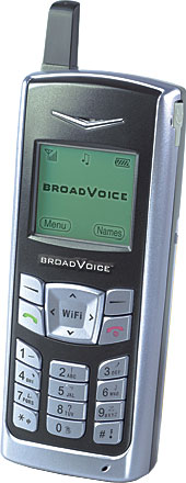 A WiFi-based VoIP phone